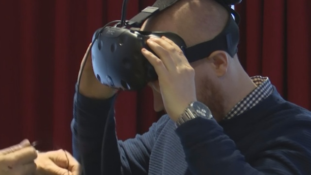 Swedish VR gives fans insight into visually-impaired sports
