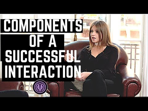 The Components Of A Successful Interaction 'A Piece Of The Attraction' podcast with Kezia Noble