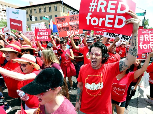 Watch: AZ Teachers Union Head Pressures Members to Intimidate Colleagues to Join #RedforEd Walk Outs