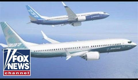Boeing submits software update to FAA for grounded 737 Max jets