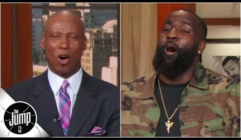 Byron Scott and Kendrick Perkins quote Stephen A. Smith in response to Spencer Dinwiddie | The Jump