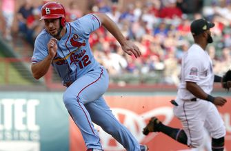 Cardinals' offense bounces back in 8-2 win over Rangers