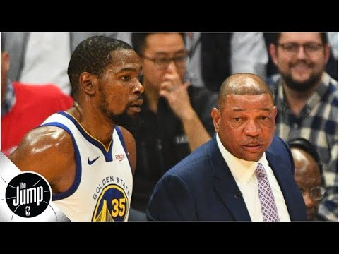 Don't count out Clippers on Kevin Durant, but probably count out Warriors - Byron Scott | The Jump