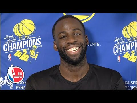 Draymond Green trying to be more 'mindful' with behavior towards refs | 2019 NBA Playoffs