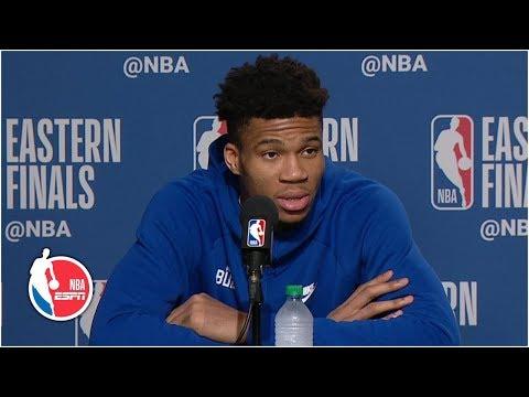 Giannis Antetokounmpo after Bucks' loss: 'Just a start of a long journey' | 2019 NBA Playoffs