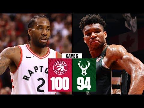Kawhi Leonard fuels Raptors past the Bucks for 1st ever NBA Finals | 2019 NBA Playoff Highlights