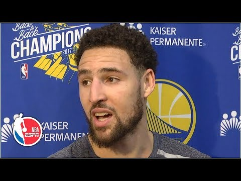Klay Thompson finds out he didn't make All-NBA in 2019 | 2019 NBA Playoffs