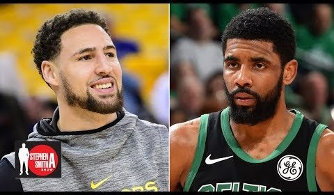 Klay Thompson should've made All-NBA over Kyrie, Russell Westbrook - Stephen A. | Stephen A. Show