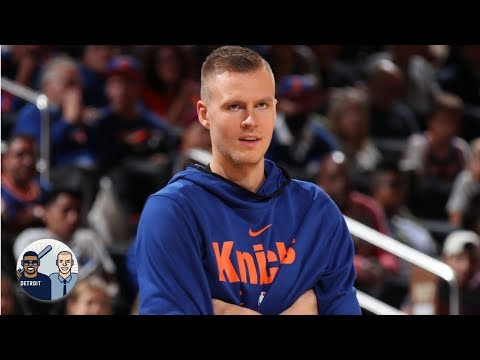 Knicks' president says Porzingis threatened to return to Europe if he wasn't traded | Jalen & Jacoby