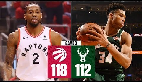 Raptors ride Kawhi Leonard's clutch game for 2OT win in Game 3 | 2019 NBA Playoff Highlights
