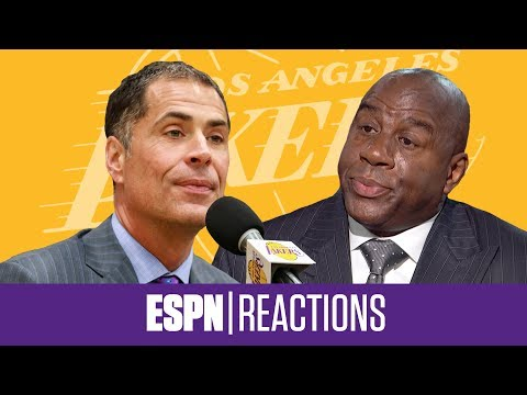 The best reactions to the Magic Johnson, Rob Pelinka 'Backstabbing' Drama | ESPN Voices