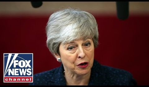 UK Prime Minister Theresa May delivers remarks on Brexit