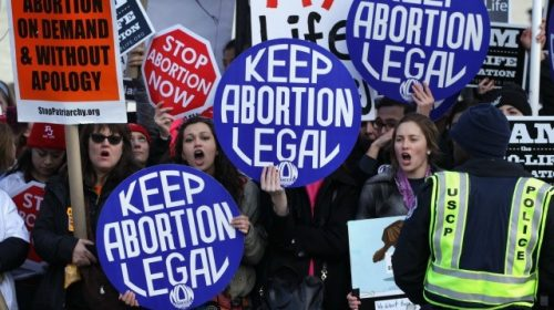 Watch Live: Pro-Choice Activists Hold 'Day of Action for Abortion Rights' on Capitol Hill, Across Nation