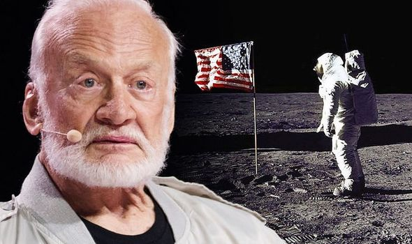 Buzz Aldrin's moment with God on the moon