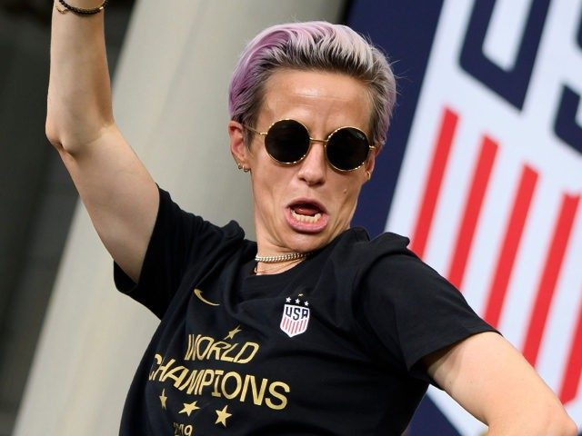 Megan Rapinoe on President Trump: 'We Are Everything He Loves,' Except 'We're Powerful, Strong Women