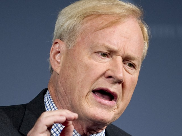 MSNBC's Chris Matthews: Trump's 'War with Denmark' Shows He Is 'Heading Up Skyward in the Craziness Department'