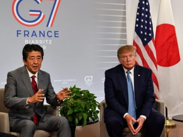 Watch: Trump Announces Trade Deal with Japan