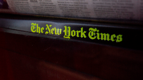 Exclusive -- Another New York Times Editor Made Racist, Anti-Semitic Comments