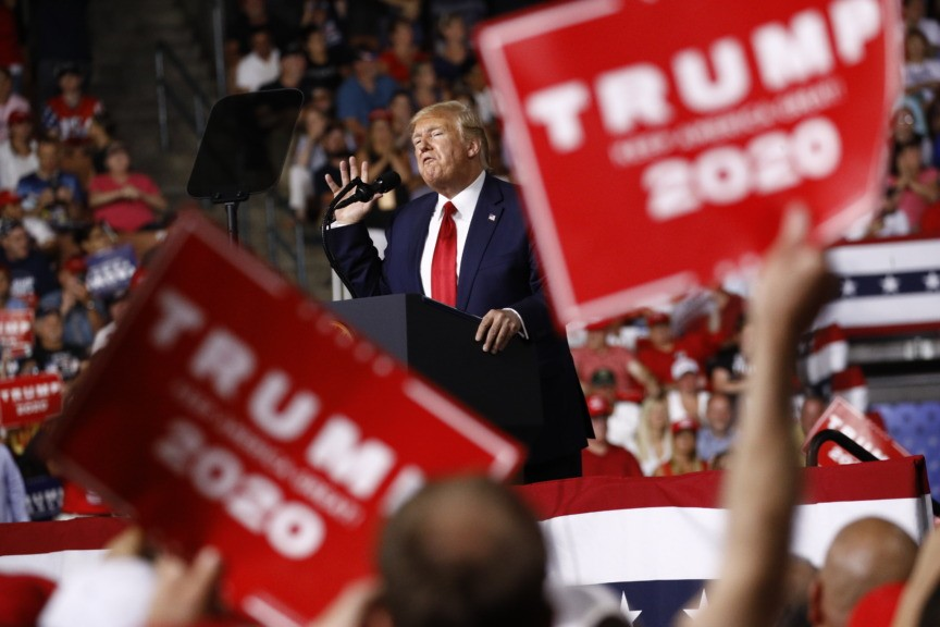 ***Live Updates*** Trump Holds New Mexico Rally