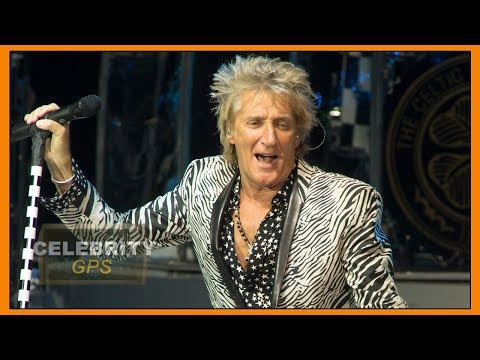 ROD STEWART reveals PROSTATE CANCER BATTLE - Hollywood TV