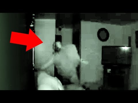5 Scary Ghost Videos Of VERY Haunted Places