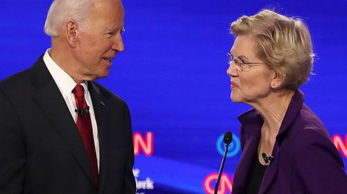 Elizabeth Warren Thanks Obama for Creation of CFPB After Biden Brags 'I Got You Votes'