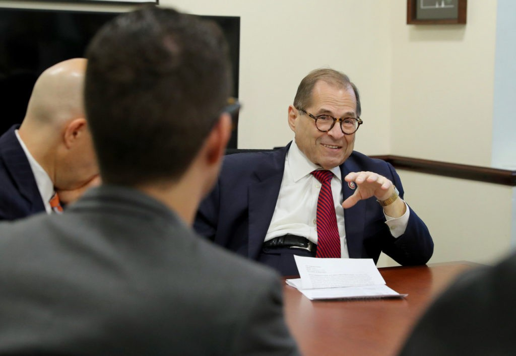 Jerry Nadler Celebrates Decision Regarding Mueller Grand Jury Evidence