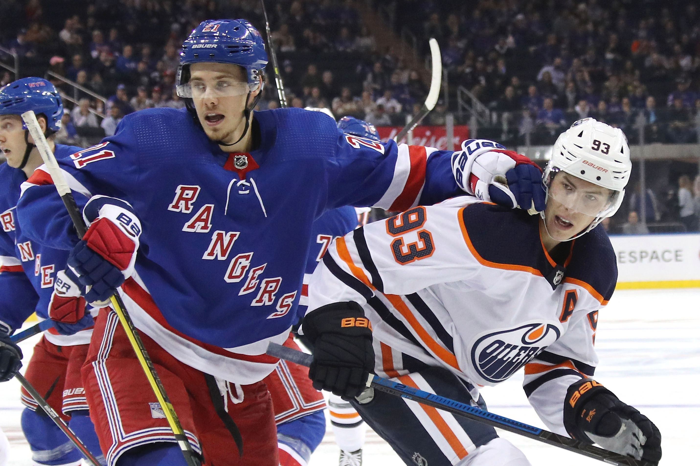 Rangers aren't done reshuffling their lines