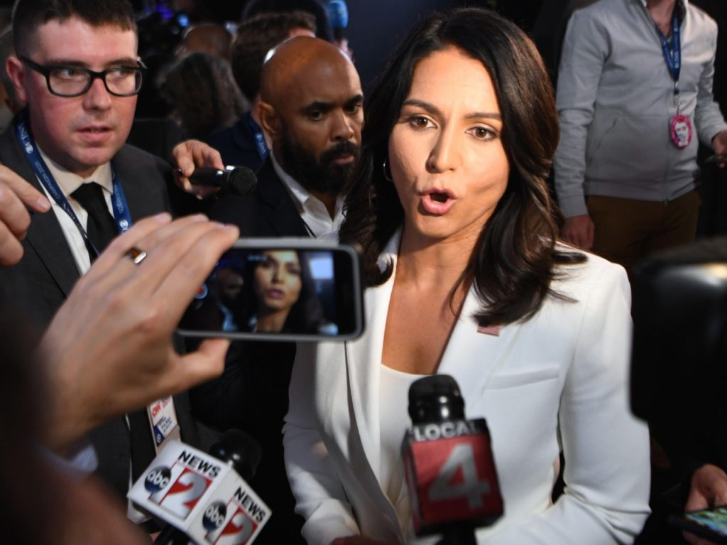 Tulsi Gabbard Rips Hillary Clinton: 'Queen of Warmongers'