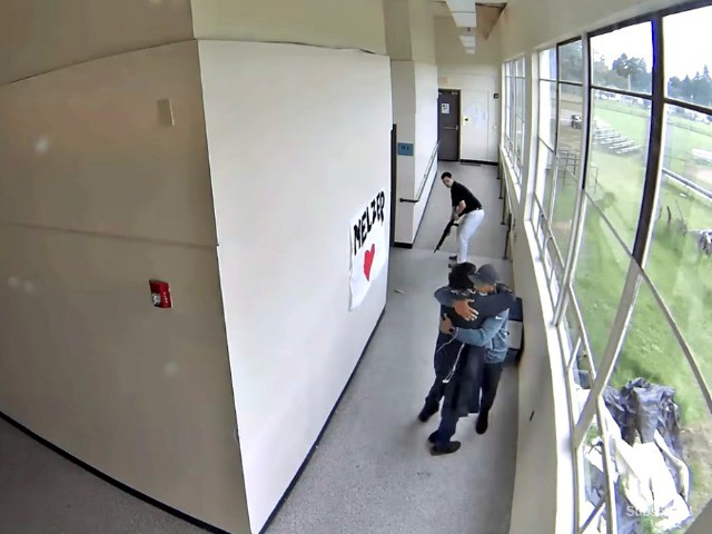 WATCH: Coach Disarms, Hugs Student Who Brought Shotgun to School