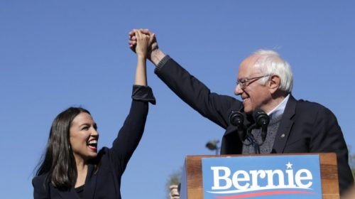 Watch Live: AOC Endorses Bernie Sanders at New York Campaign Rally