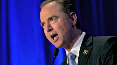 Adam Schiff Calls Trump 'Charlatan,' Vows to Send Him Back to the 'Golden Throne He Came From'
