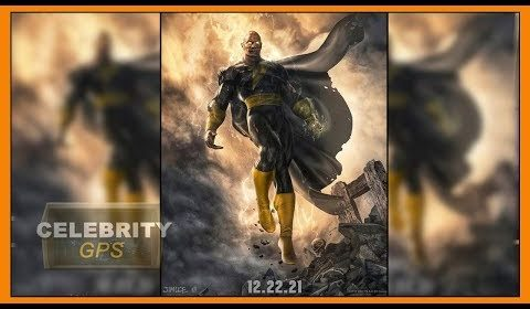 DWAYNE JOHNSON reveals BLACK ADAM - Hollywood TV