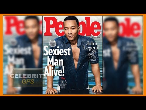 JOHN LEGEND is People's SEXIEST MAN ALIVE - Hollywood TV