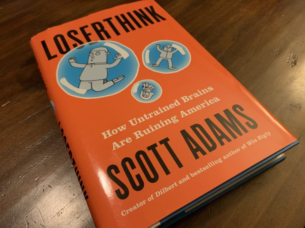 Scott Adams: Think Outside the Bubble