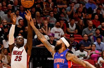 Slow start dooms Pistons in 117-108 loss to Heat