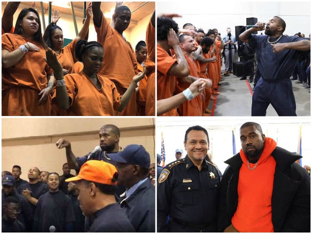 Watch -- Kanye West Brings Sunday Service to Houston Jail: 'This Is a Mission, Not a Show'