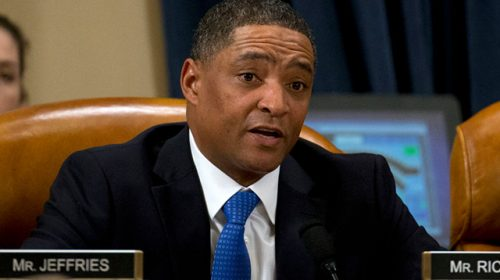 Democrat Rep. Cedric Richmond Busted Watching Golf During Impeachment Hearing