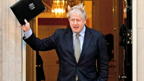 Exclusive--Ortiz: Boris Johnson Election Victory Is Bad News for Democrats