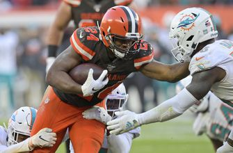 Grounded: Browns humble Chubb eyes wins, not rushing title