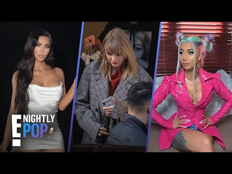"Kim's Home Xmas Tour, Taylor Baggage & Cardi B Hack or Smack? - ""Nightly Pop"" 12/4/19 