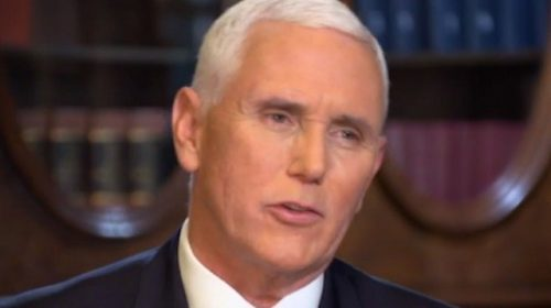 Pence 'Confident' He Will Be Trump's 2020 Running Mate