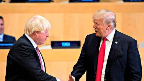 Trump: Boris Johnson Win 'Might Be a Harbinger for What's to Come' in 2020