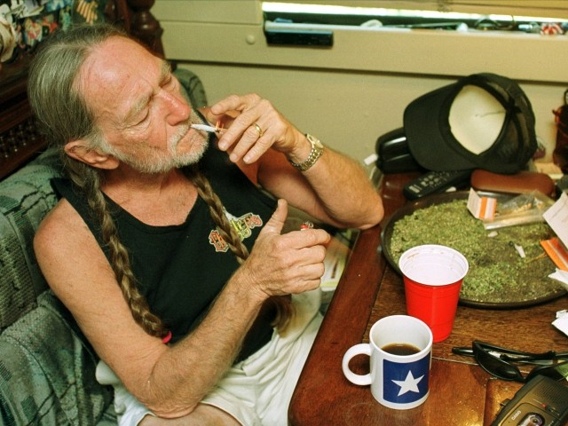 Willie Nelson Says He's Not Smoking Weed, But Is Still Using Pot