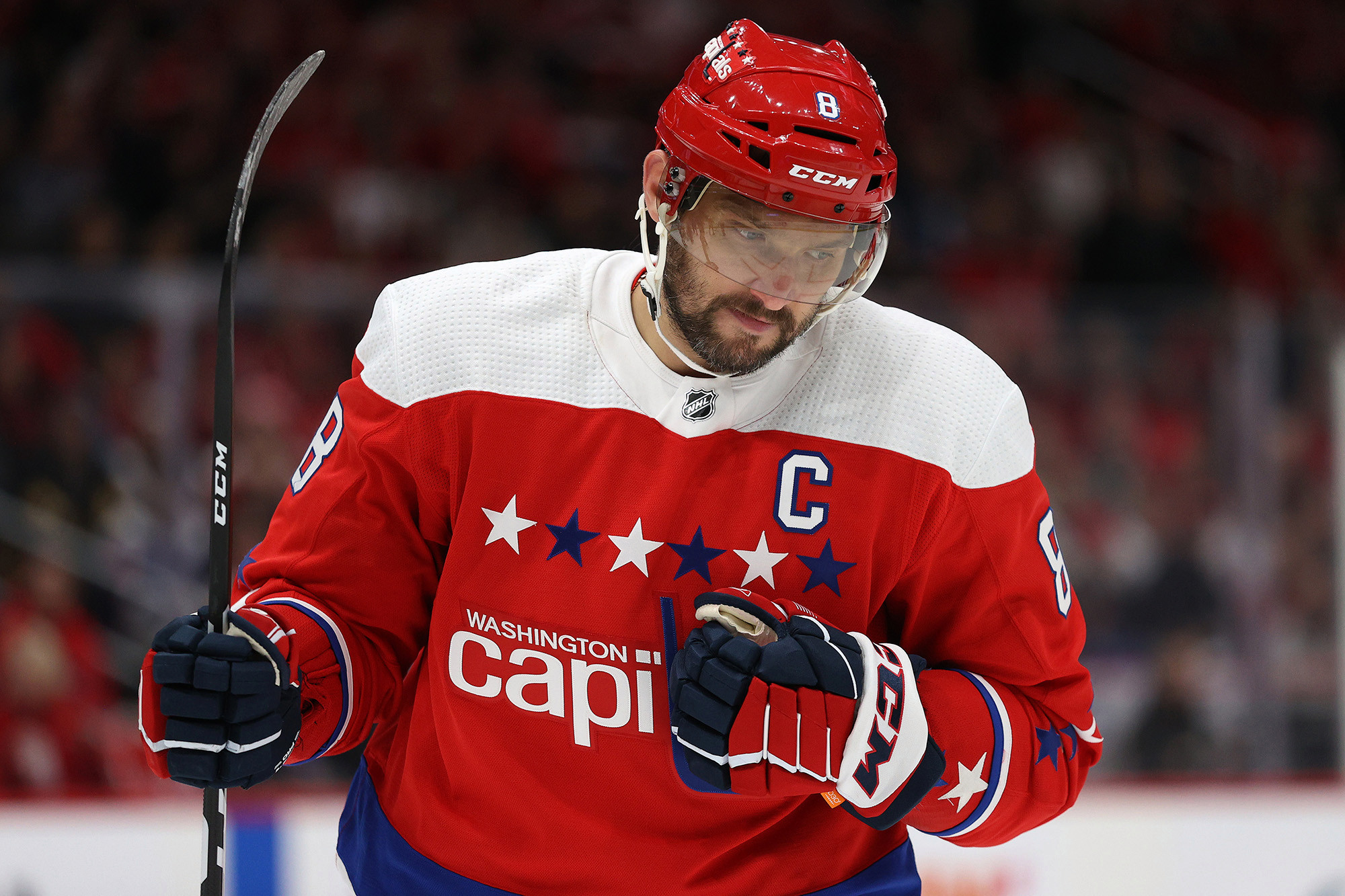 Alex Ovechkin's unsurprising COVID-19 mishap only hurts him