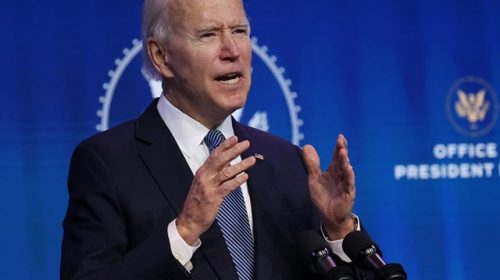 Biden: We'll Push to 'Reopen a Majority of our K-8 Schools' by the End of 100 Days