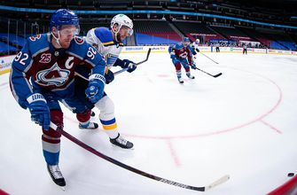 Blues blanked 8-0 by Avalanche
