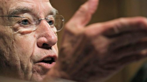 Chuck Grassley Urges Biden to Condemn Violence in Seattle and Portland