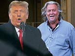 Donald Trump 'decides to pardon Steve Bannon'