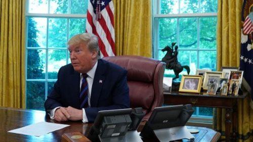 Donald Trump Leaves Letter for Incoming President Joe Biden